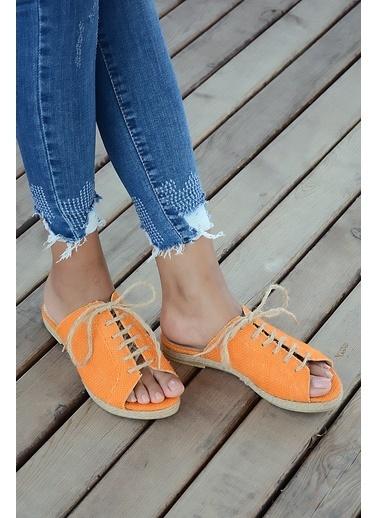 Pembe Potin A9595-19 Kadın Sandalet A9595-19 Oranj
